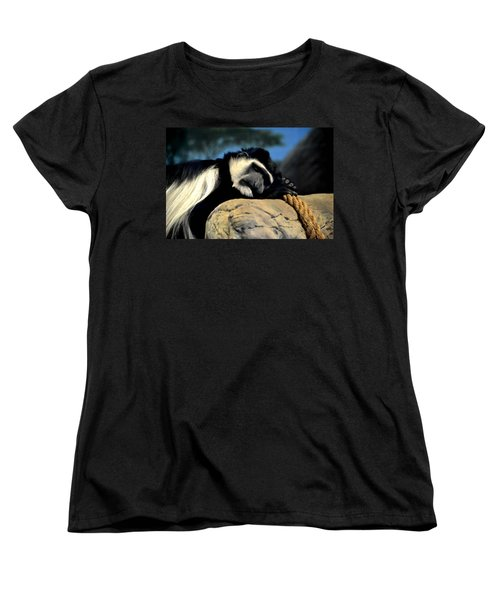 Women's T-Shirt (Standard Cut) featuring the photograph Siesta by Deena Stoddard