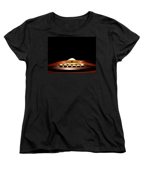 Women's T-Shirt (Standard Cut) featuring the photograph Silent Guitar by Greg Simmons