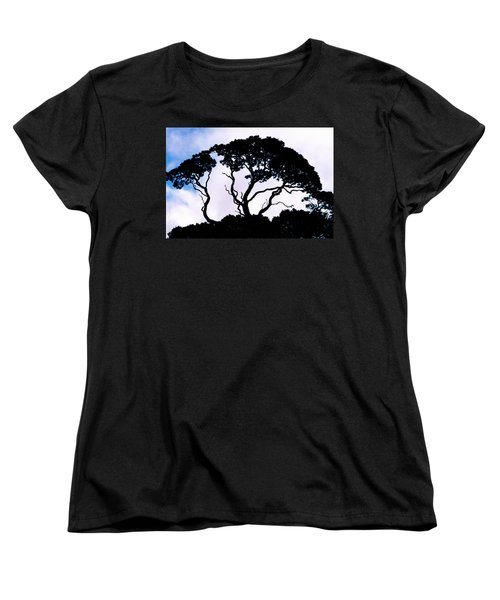 Women's T-Shirt (Standard Cut) featuring the photograph Silhouette by Jim Thompson