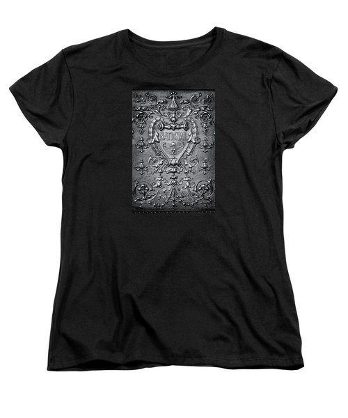 Women's T-Shirt (Standard Cut) featuring the photograph Silver Flourish by Caitlyn  Grasso
