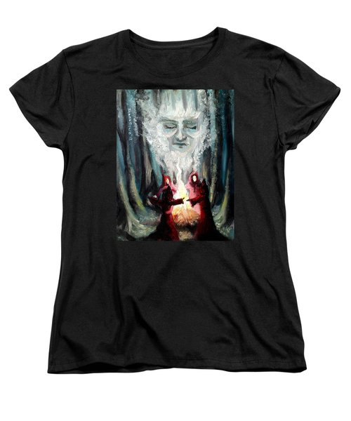 Sisters Of The Night Women's T-Shirt (Standard Cut) by Shana Rowe Jackson
