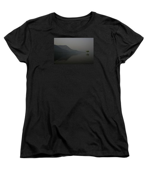 Women's T-Shirt (Standard Cut) featuring the photograph Skc 0086 Solitary Isolation by Sunil Kapadia