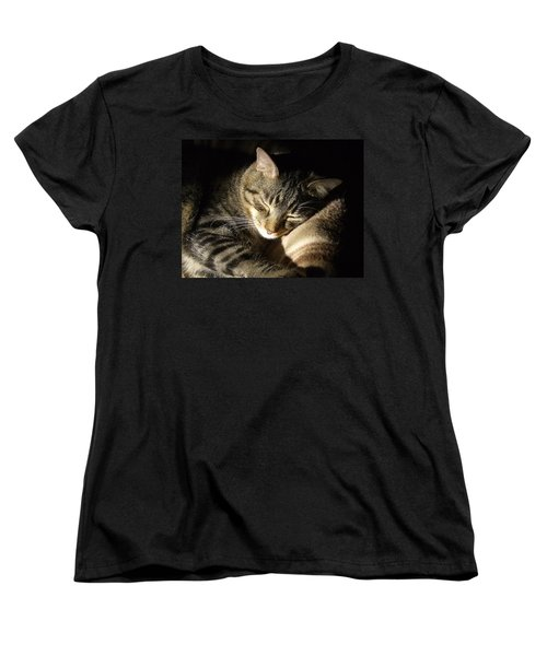 Sleeping Beauty Women's T-Shirt (Standard Cut) by Leslie Manley