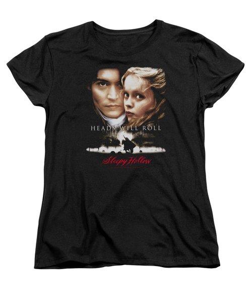 Sleepy Hollow - Heads Will Roll Women's T-Shirt (Standard Cut) by Brand A