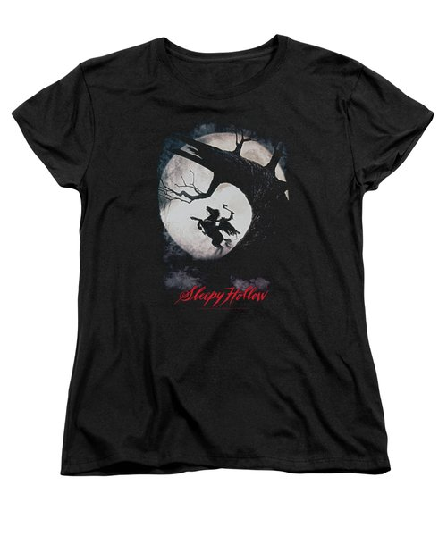 Sleepy Hollow - Poster Women's T-Shirt (Standard Cut) by Brand A