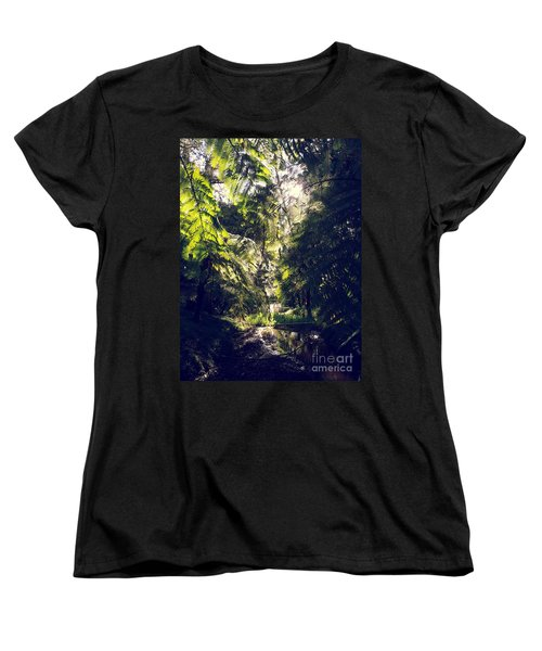 Women's T-Shirt (Standard Cut) featuring the photograph Slight Tremble by Rushan Ruzaick