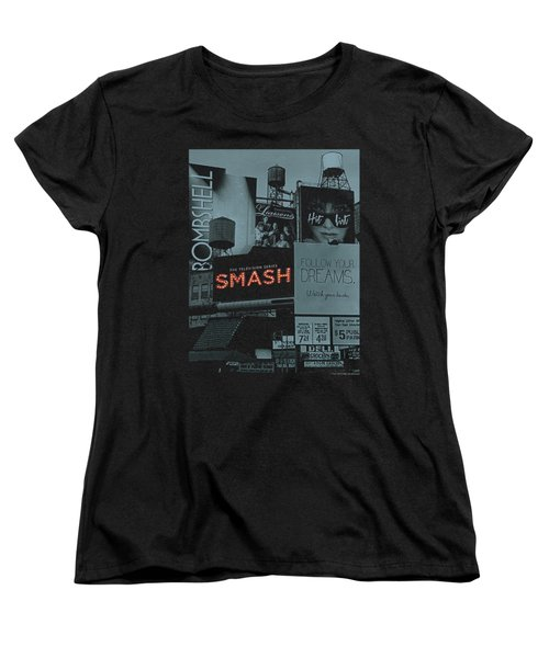 Smash - Billboards Women's T-Shirt (Standard Cut) by Brand A