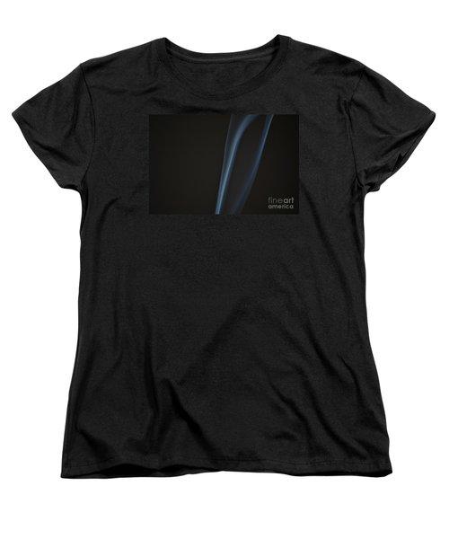 Women's T-Shirt (Standard Cut) featuring the photograph Smoke 2 by Patrick Shupert