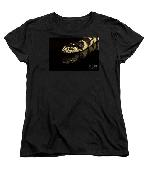 Women's T-Shirt (Standard Cut) featuring the photograph Snake by Gunnar Orn Arnason