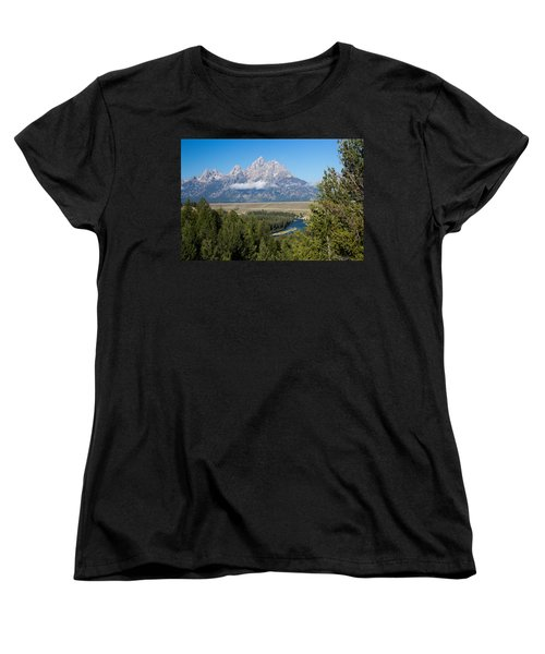 Snake River Overlook Women's T-Shirt (Standard Cut)