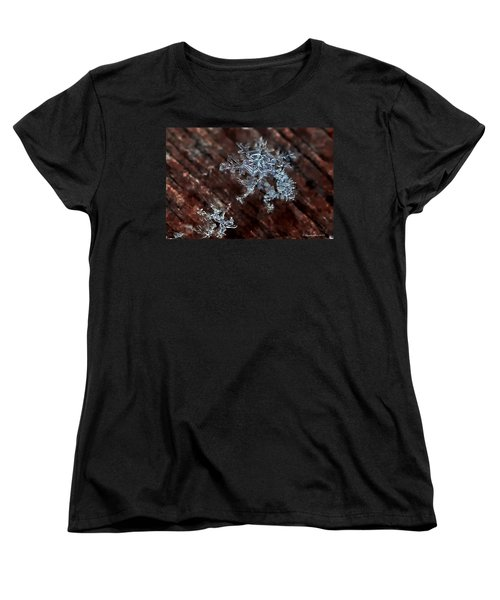 Snowflake Women's T-Shirt (Standard Cut) by Suzanne Stout