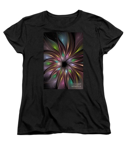 Soft Colors Of The Rainbow Women's T-Shirt (Standard Cut) by Deborah Benoit