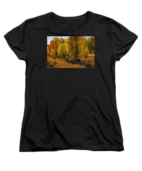 Women's T-Shirt (Standard Cut) featuring the photograph Solitude by Ken Smith