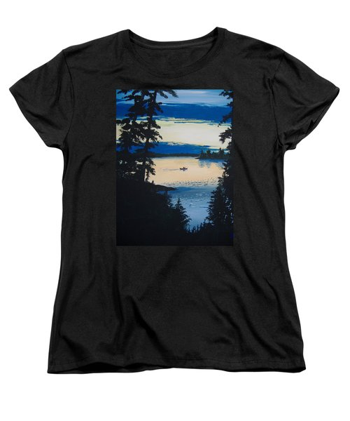 Solitude Women's T-Shirt (Standard Cut) by Norm Starks