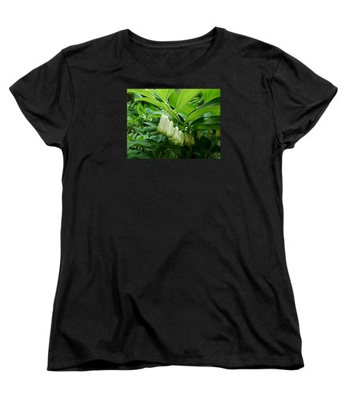 Women's T-Shirt (Standard Cut) featuring the photograph Wild Solomon's Seal by William Tanneberger