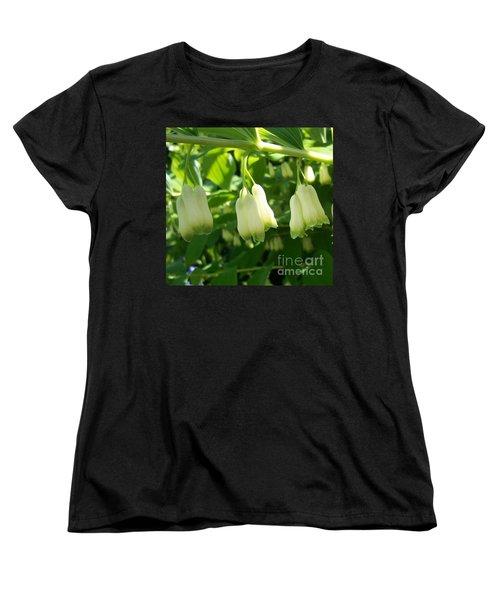 Women's T-Shirt (Standard Cut) featuring the photograph Solomon's Seal by Jolanta Anna Karolska