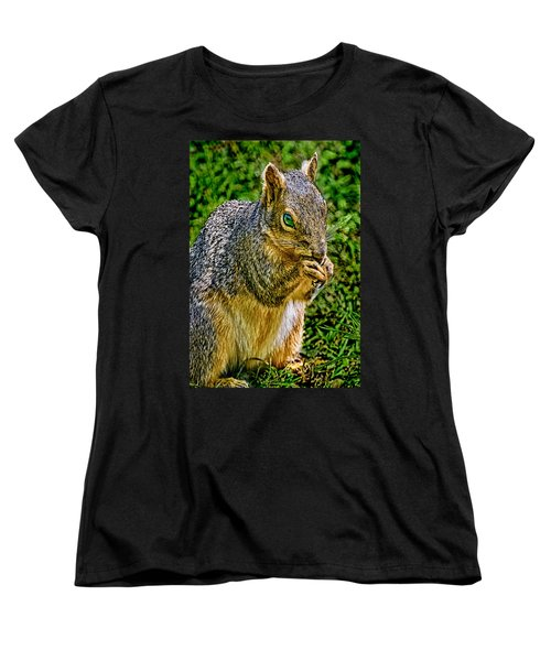 Some Squirrels Are Big Women's T-Shirt (Standard Cut) by Bob and Nadine Johnston