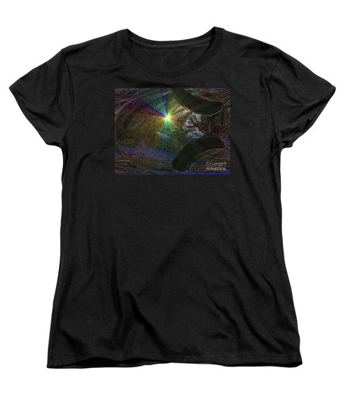 Something Wicked This Way Comes Women's T-Shirt (Standard Cut) by Jacqueline Lloyd