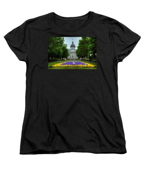 South Carolina State House Women's T-Shirt (Standard Cut) by Michael Eingle