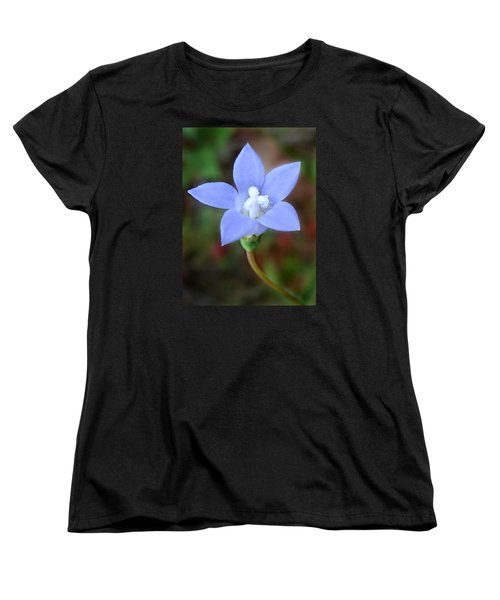 Women's T-Shirt (Standard Cut) featuring the photograph Wild Southern Rockbell  by William Tanneberger