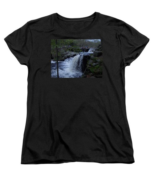Southford Falls Women's T-Shirt (Standard Cut) by Catherine Gagne