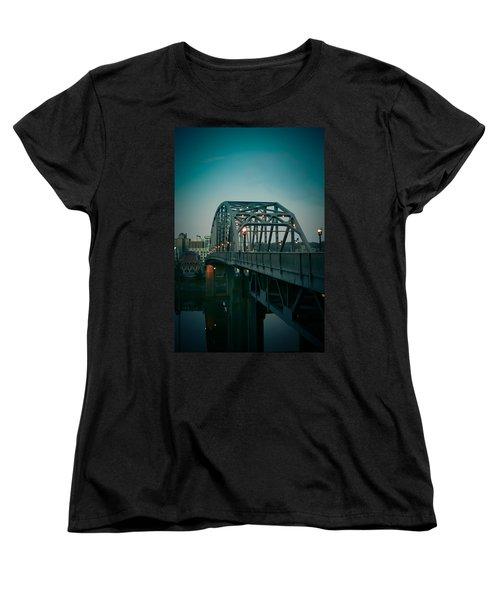 Southside Bridge  Women's T-Shirt (Standard Cut) by Shane Holsclaw