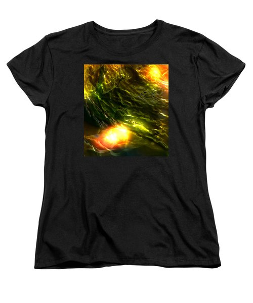 Space Fall Women's T-Shirt (Standard Cut) by Richard Thomas