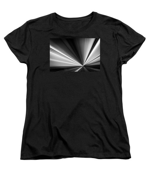 Women's T-Shirt (Standard Cut) featuring the photograph Space-time Continuum by Mihai Andritoiu