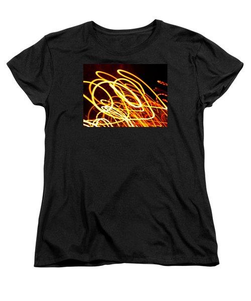 Spiral Light Among Dwellers About The City 2 Women's T-Shirt (Standard Cut)