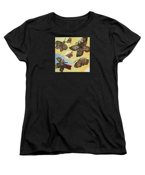 Spirit Lights Women's T-Shirt (Standard Cut) by Emily McLaughlin