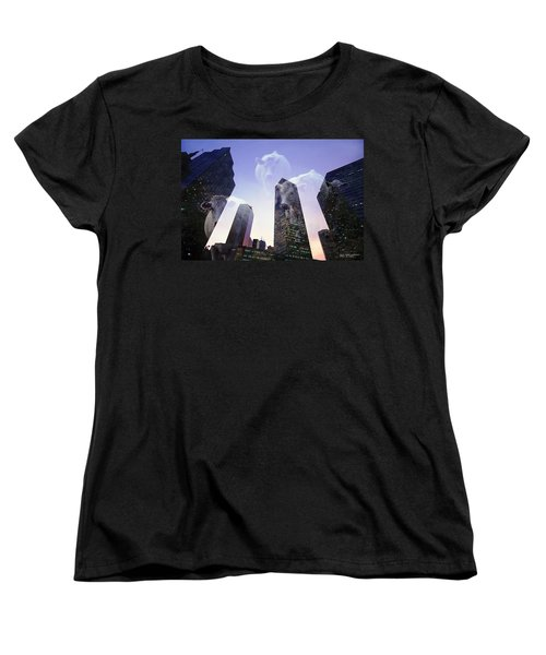 Women's T-Shirt (Standard Cut) featuring the photograph Spirit Of Texas by David Perry Lawrence