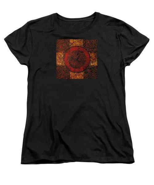 Spiritual Movement Women's T-Shirt (Standard Cut) by Roberta Rotunda