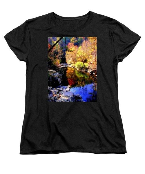 Splendor Of Autumn Women's T-Shirt (Standard Cut)