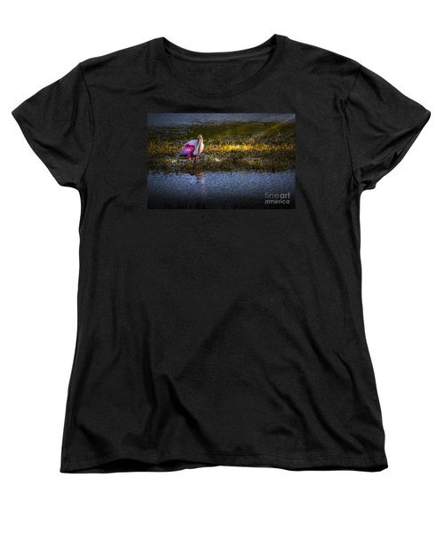 Spotlight Women's T-Shirt (Standard Cut) by Marvin Spates