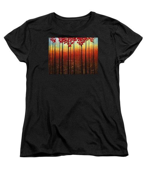 Spring Ahead Women's T-Shirt (Standard Cut) by Carmen Guedez