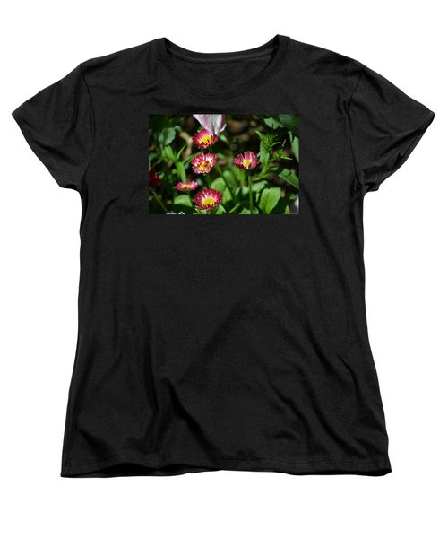 Women's T-Shirt (Standard Cut) featuring the photograph Spring Blooms by Tara Potts