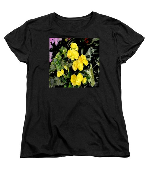 Women's T-Shirt (Standard Cut) featuring the photograph Spring Delight In Yellow by Luther Fine Art