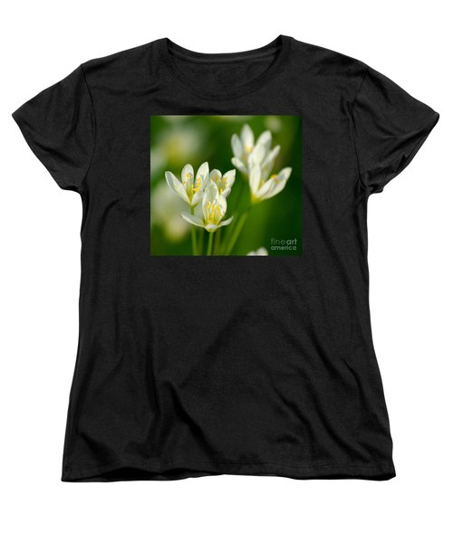 Spring In Miniature Women's T-Shirt (Standard Cut) by Liz Masoner