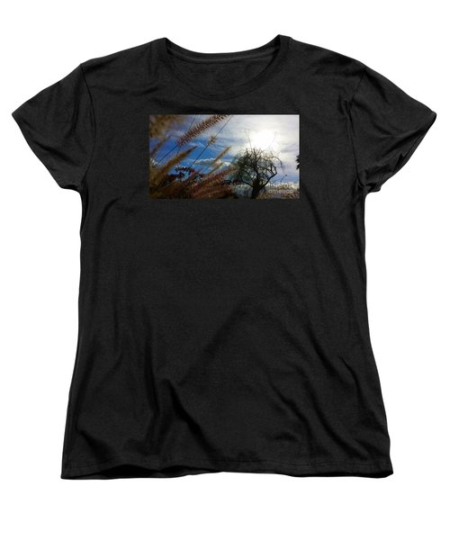 Spring In The Air Women's T-Shirt (Standard Cut) by Chris Tarpening