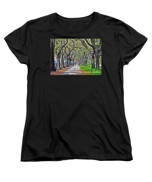 Springtime In Savannah Women's T-Shirt (Standard Cut) by Lydia Holly