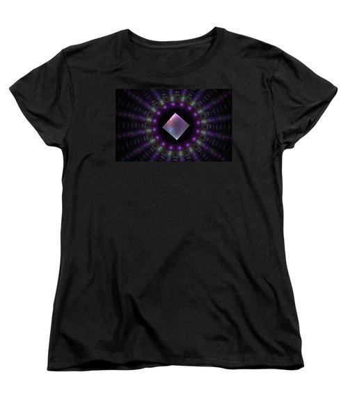 Square Peg Round Hole Women's T-Shirt (Standard Cut) by GJ Blackman