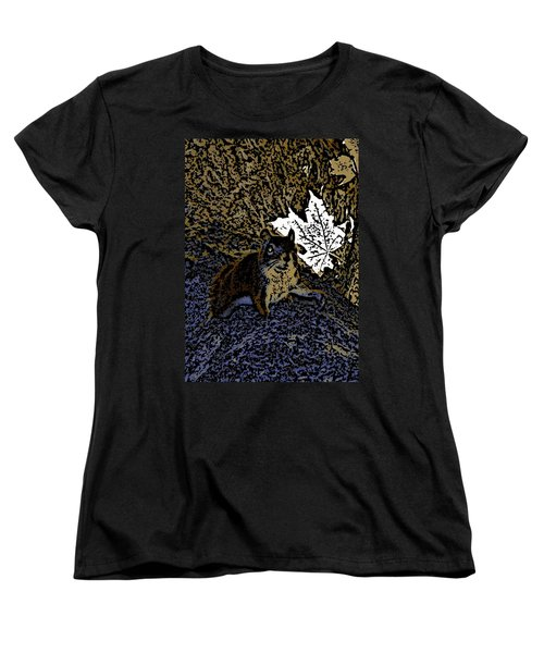 Squirrel Women's T-Shirt (Standard Cut) by Jason Lees