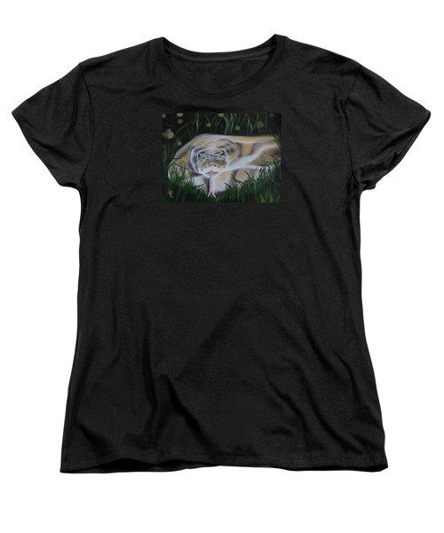 Ssssmantha Women's T-Shirt (Standard Cut) by Dianna Lewis