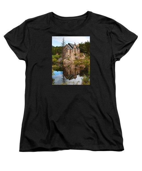 St. Malo Women's T-Shirt (Standard Cut) by Jim Garrison