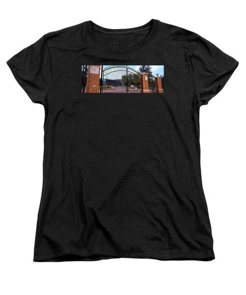 Stadium Of A University, Michigan Women's T-Shirt (Standard Cut) by Panoramic Images