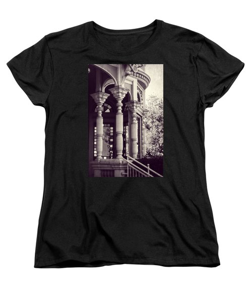 Women's T-Shirt (Standard Cut) featuring the photograph Stained Glass Memories by Melanie Lankford Photography