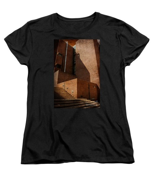 Stairway To Nowhere Women's T-Shirt (Standard Cut) by Lois Bryan