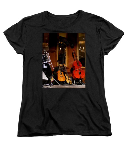 Women's T-Shirt (Standard Cut) featuring the photograph Stand By by Nina Ficur Feenan