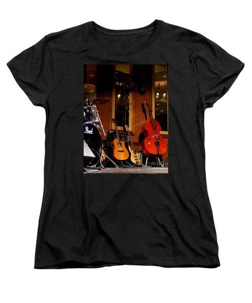 Stand By Women's T-Shirt (Standard Cut) by Nina Ficur Feenan