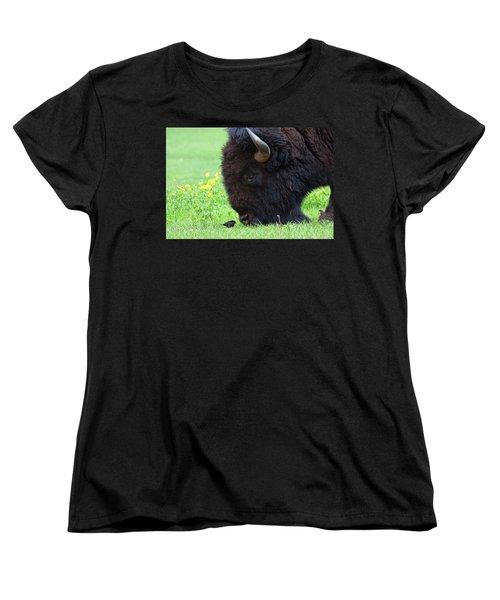 Stand Your Ground Women's T-Shirt (Standard Cut) by Jim Garrison